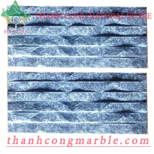 Crystal Black Marble Chiseled Tile 01