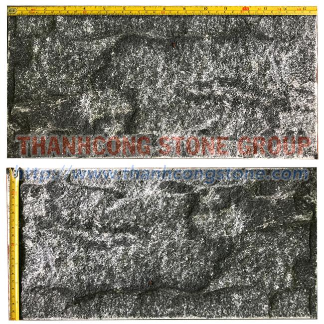 Crystal Black Mushroom Stone