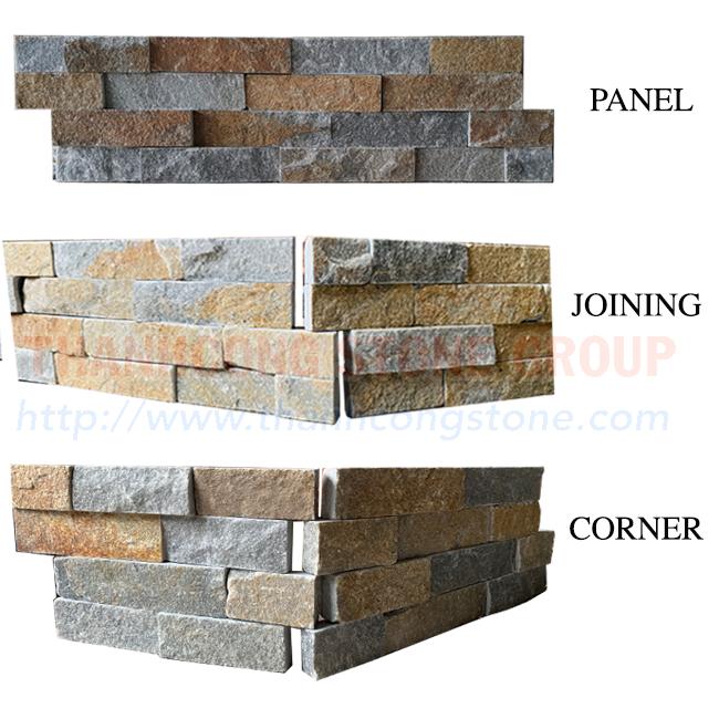 Crystal Rusty Stone Panels