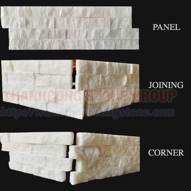 Crystal White Marble Panels