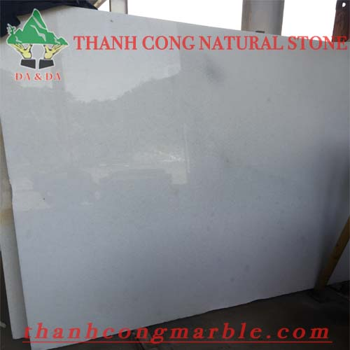Crystal White Marble Slab 01