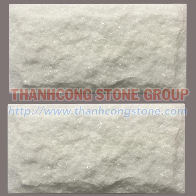 Crystal White Mushroom Stone