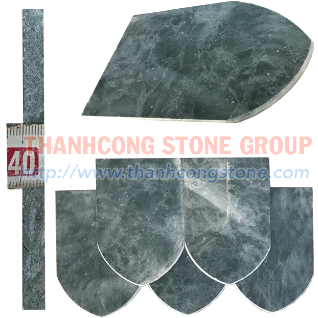 Green Stone Roof Tile