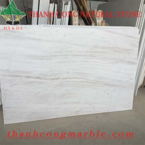 Milky White Marble Slab 02