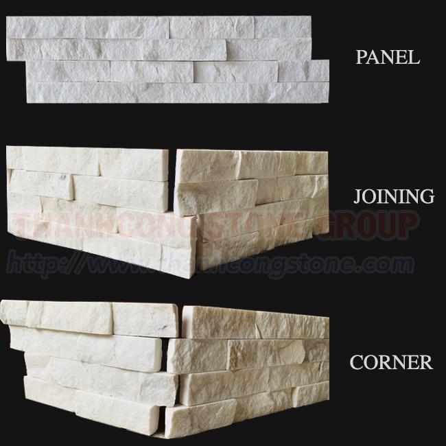 Milky White Stone Panels
