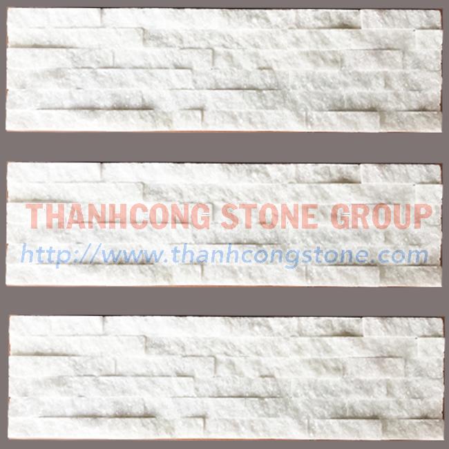 Pure White Stone Panels 02