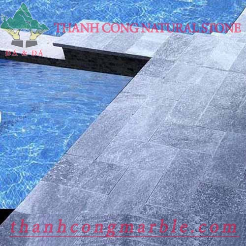 Swimming Pool Bluestone Tile 01