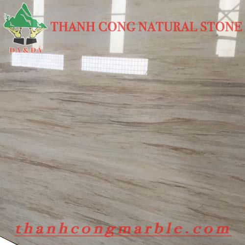 Wooden Vein White Marble 04