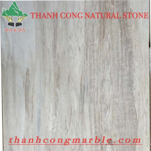 Wooden Vein White Marble 05