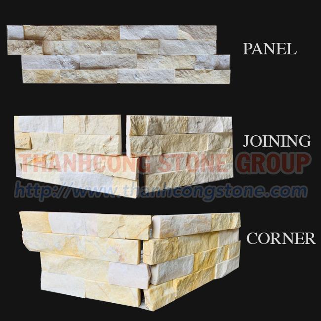Yellow Marble  Panels